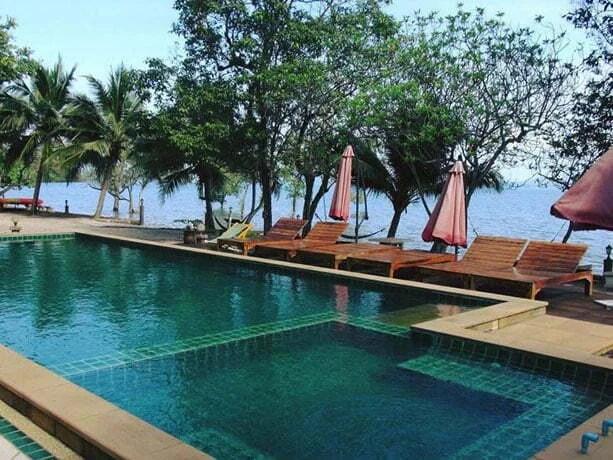 exterieur garden of joy hotel ko chang