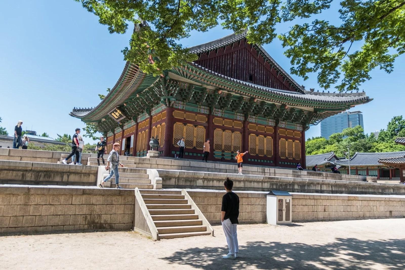 palais deoksugung - seoul - coree du sud