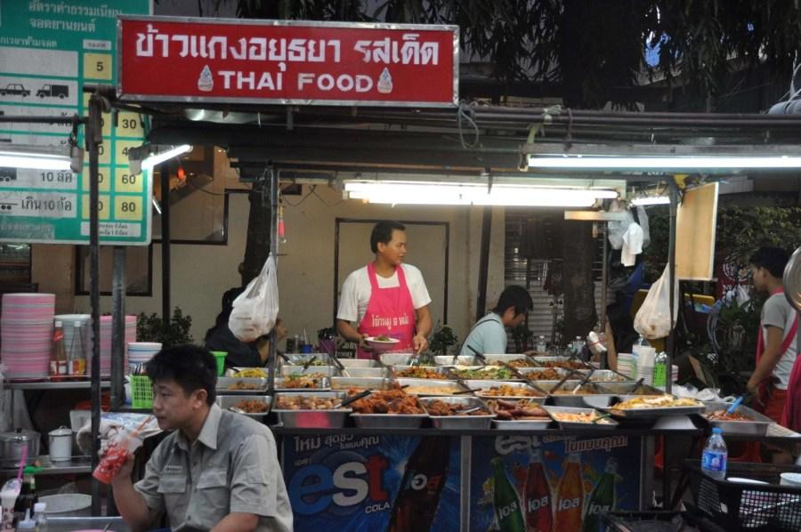 street food vers khao san bangkok