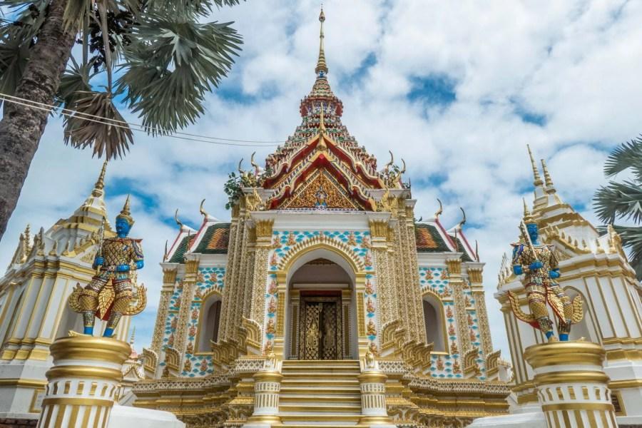 structure au Wat Klang Bang Kaeo - nakhon chai si