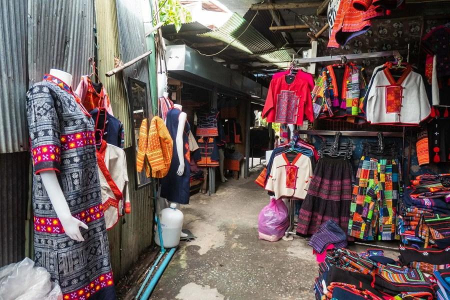 au marché hmong chiang mai