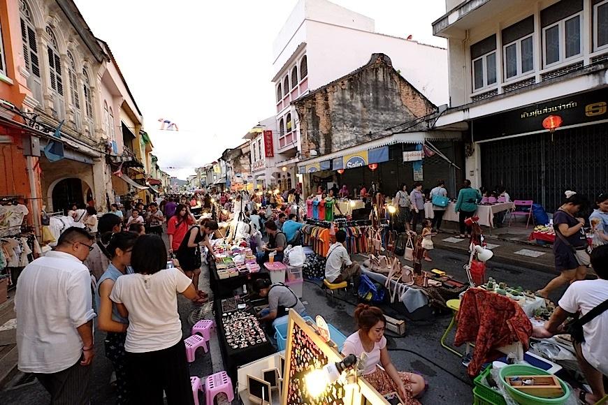 泰友營 Thailandfans.com: 布吉Old town 內逢星期日的Walking Street Lardyai Market