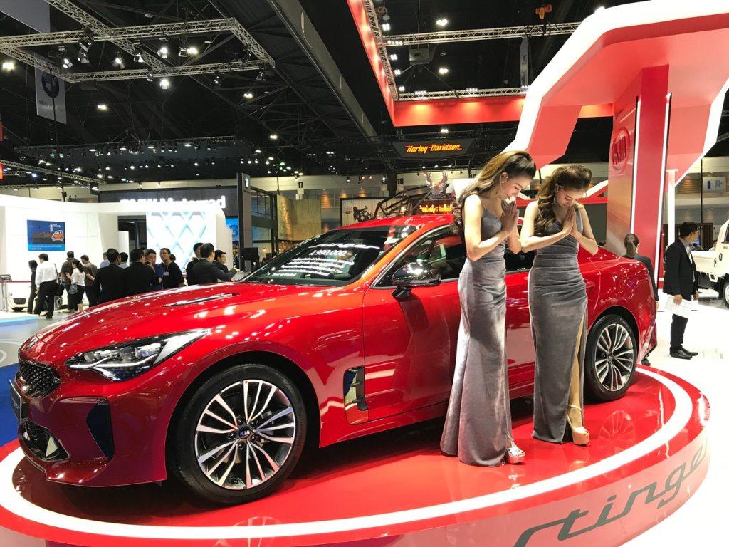 Pretties at 2018 Motor Show