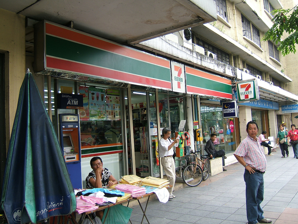 7-Eleven convenience store in Chinatown