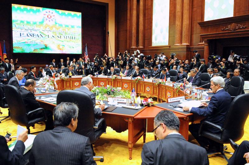 U.S. Secretary of State John Kerry ASEAN Summit