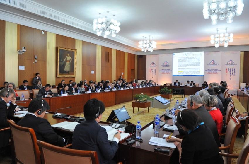 Asia-Europe Parliamentary Partnership Meeting Begins in Ulaanbaatar