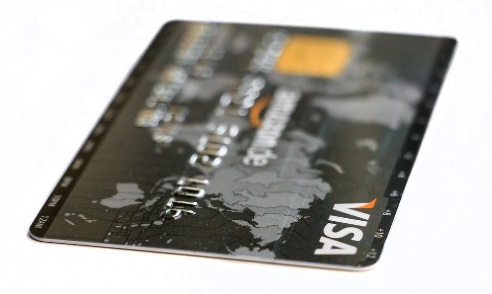 Black Visa Credit Card