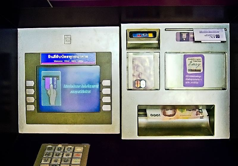 Siam Commercial Bank ATM