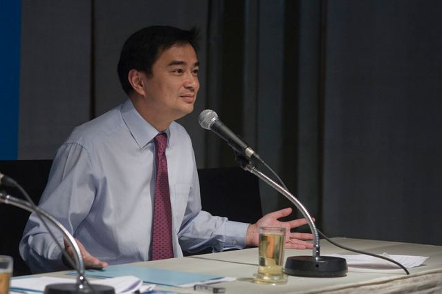 Abhisit wins primary election as Democrat leader