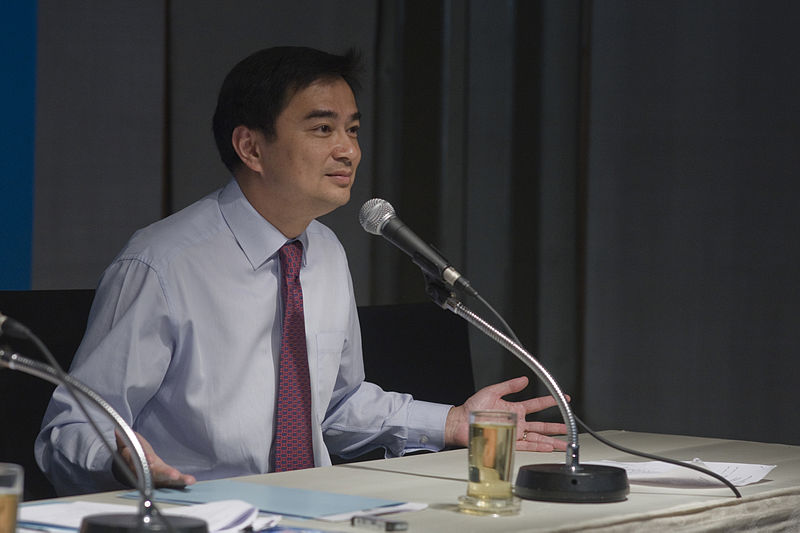 Ex-premier Abhisit Vejjajiva