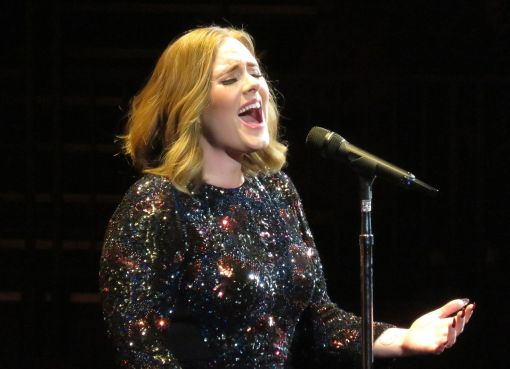 Adele at the Genting Arena in Birmingham