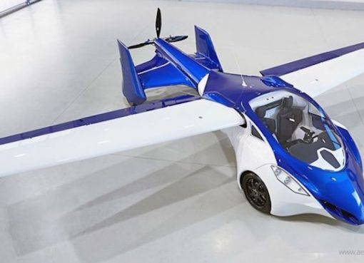 The flying roadster Aeromobil 3.0 flying car