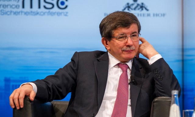 Ahmet Davutoğlu at the 50th Munich Security Conference. Image: Munich Security Conference.