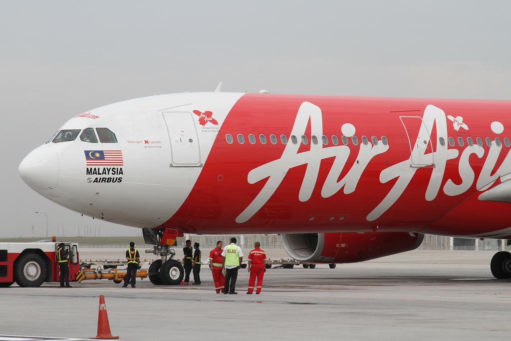 AirAsia X Airbus A330-300 at Kuala Lumpur International Airport