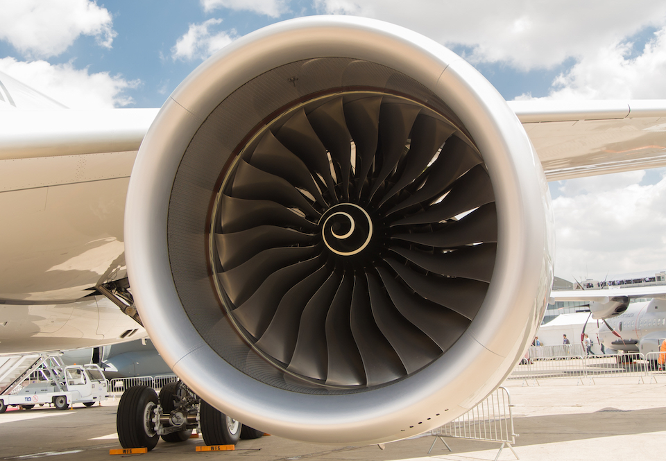 Airbus A350 Rolls-Royce engine