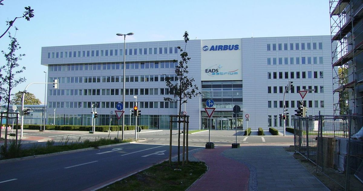 Airbus EADS building in Bremen