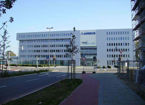 Airbus EADS building in Bremen