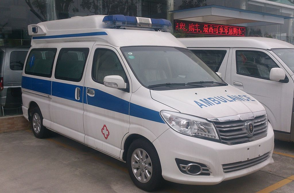 Ambulance in Guangdong province, China
