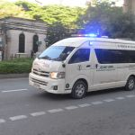 Toyota ambulance in Bangkok