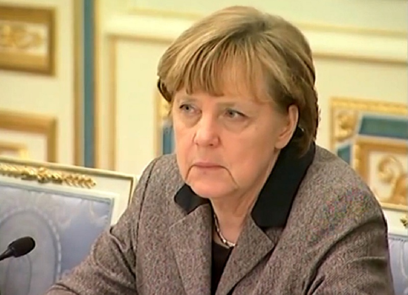 Angela Merkel in Kiev