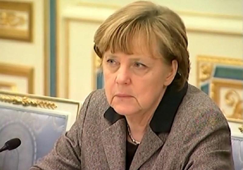 Angela Merkel in Kiev