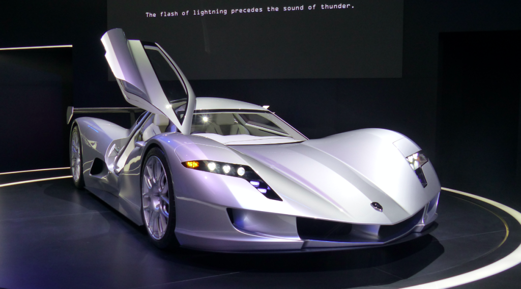 Aspark Owl Electric Supercar Concept
