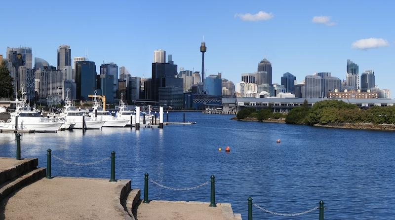 Sydney seen from Balmain