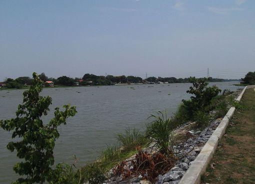 The Chao Phraya River in Ayutthaya