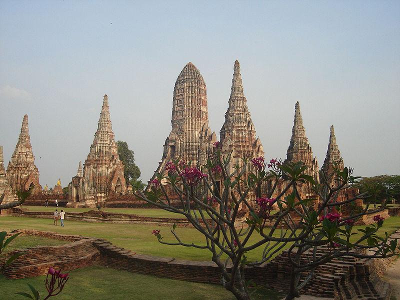 Wat Chaiwatthanaram in Phra Nakhon Si Ayutthaya