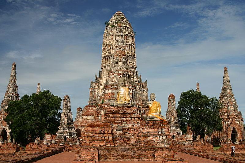 Wat Chai Watthanaram, in Ayutthaya Historical Park