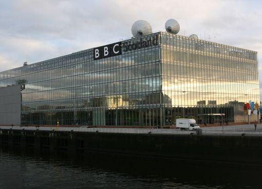 BBC Pacific Quay in Glasgow, Scotland