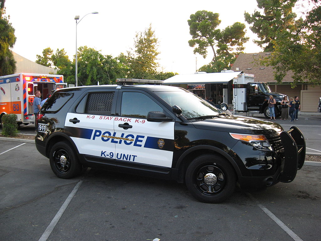 US Police Ford Explorer patrol cruiser