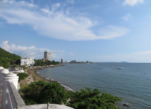 View of Bang Saen in Chonburi