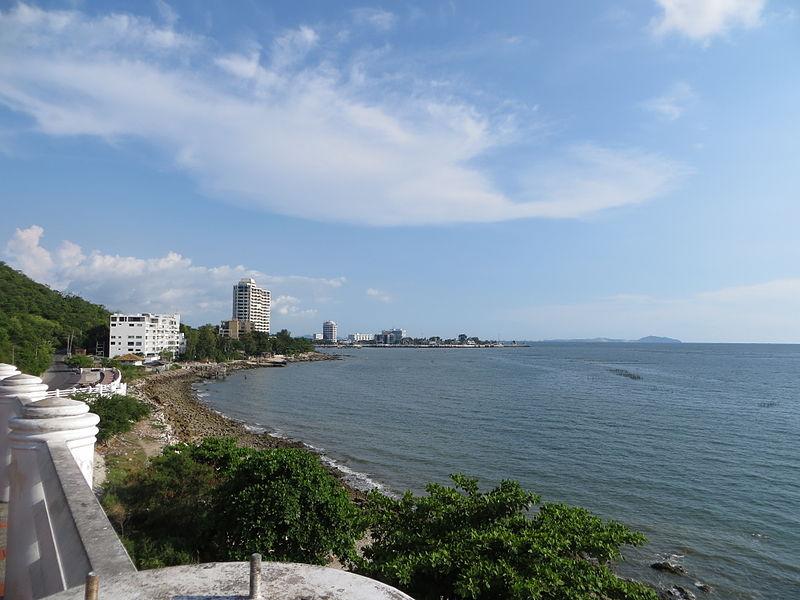 View of Bang Saen in Chonburi