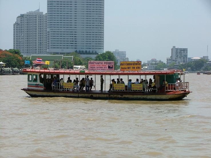 Chao Phraya Express Boat increases its fares by one baht