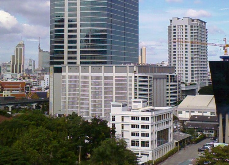 Chamchuri Office Tower and shopping mall,Bangkok