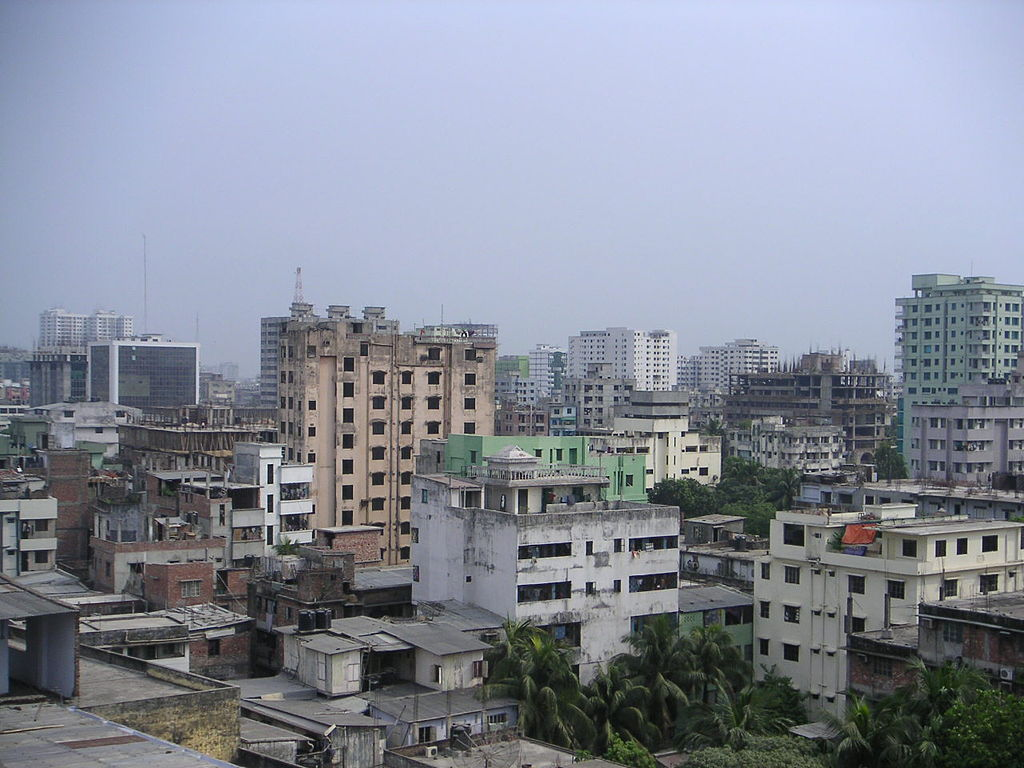 View of Dhaka in Bangladesh