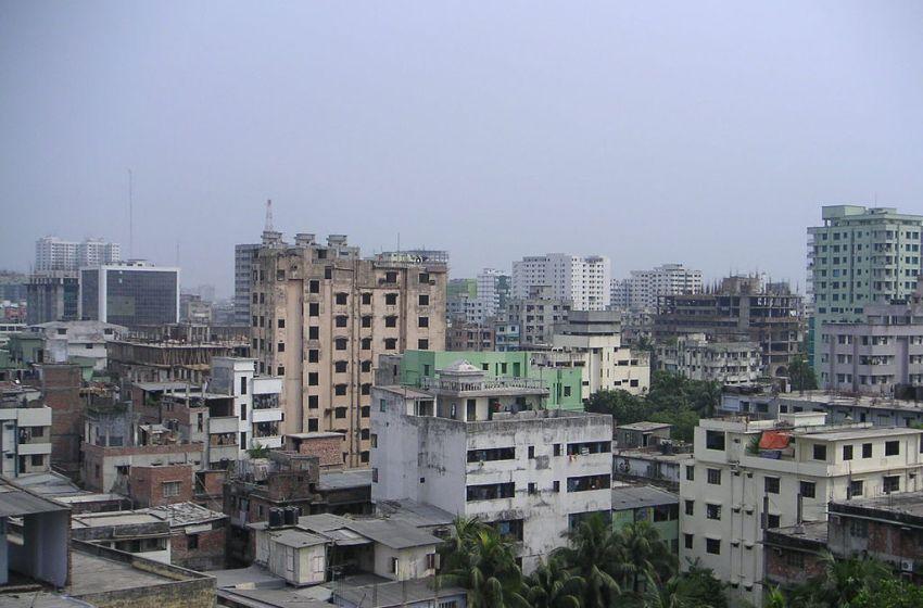 View of Dhaka in Bangladesh