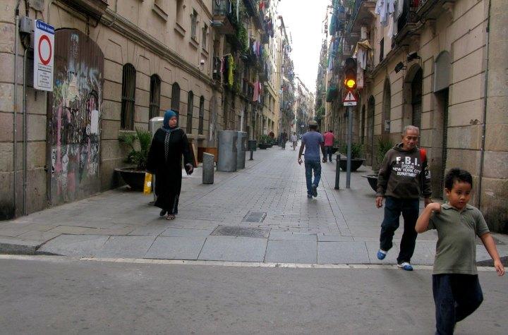 Muslims in El Raval, Barcelona