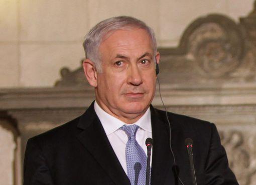 Benjamin Netanyahu with Greek PM