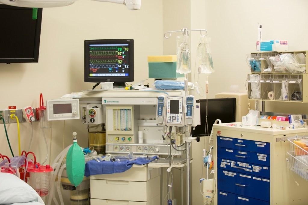 Intensive Care Unit (ICU) in hospital