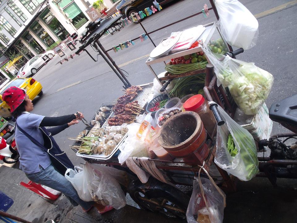 Street food vendor in Bangkok