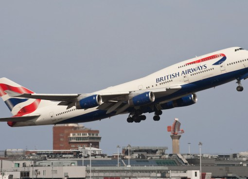 British Airways B747-436 at London Heathrow