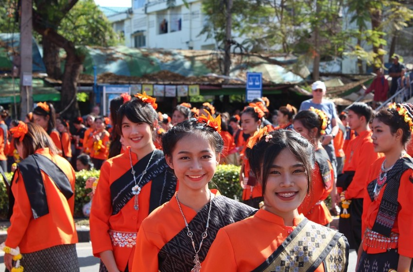 Festival in Udon Thani, Thailand