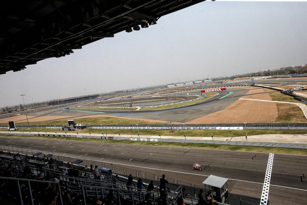Dani Pedrosa test at Buri Ram Chang International Circuit