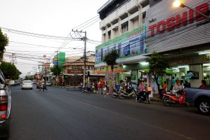 Buriram city center