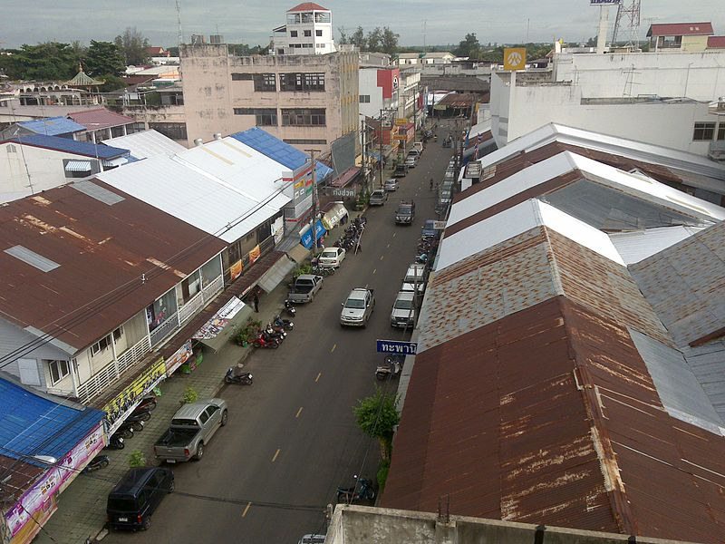 Street in Buri Ram