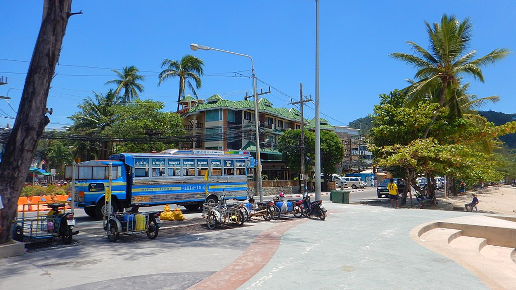 Bus in Patong, Phuket