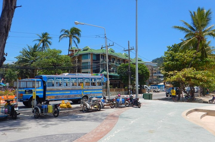Bus in Patong, Phuket