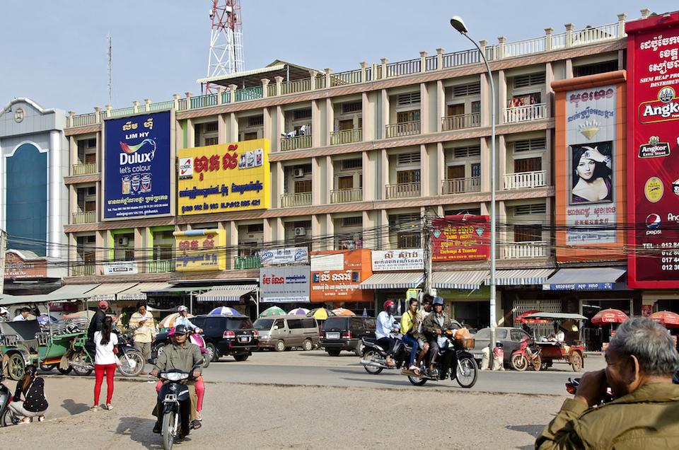 Siem Reap in Cambodia